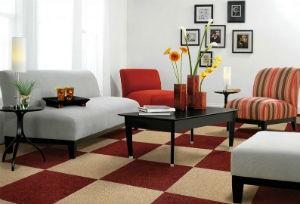 karpet lantai ruang tamu